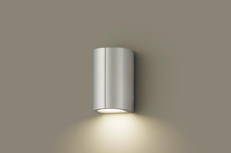 (防雨型)LEDポーチライト(電球色)LGW85030YK(プラチナメタリック)(電気工事必要)パナソニックPanasonic