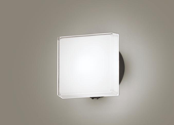FreePa(段調光省エネ)LEDポーチライト(昼白色)LGWC80327LE1(オフブラック)(電気工事必要)パナソニックPanasonic