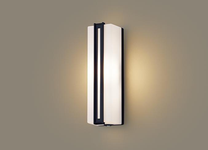FreePa(段調光省エネ)LEDポーチライト(電球色)LGWC80413LE1(オフブラック)(電気工事必要)パナソニックPanasonic