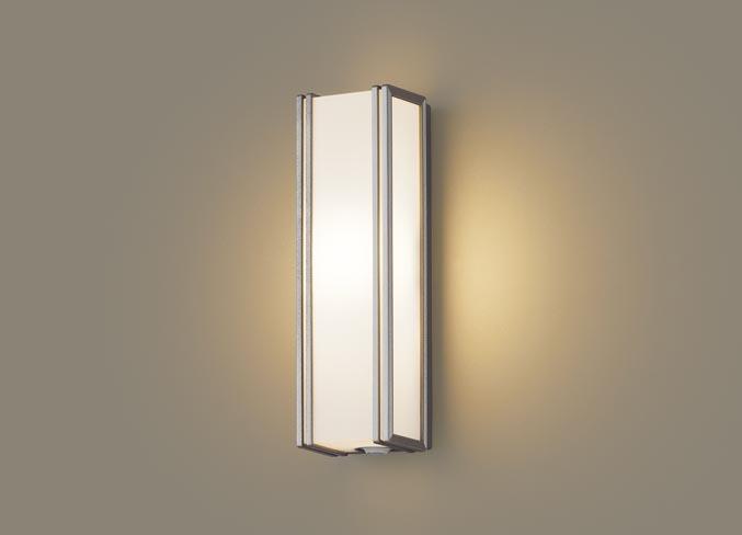 FreePa(フラッシュ)LEDポーチライト(電球色)LGWC81404LE1(プラチナメタリック)(電気工事必要)パナソニックPanasonic
