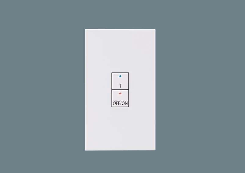 [電気工事必要]NK28802 ライトマネージャーFx専用システムアップ子器(2ボタン子器)パナソニックPanasonic