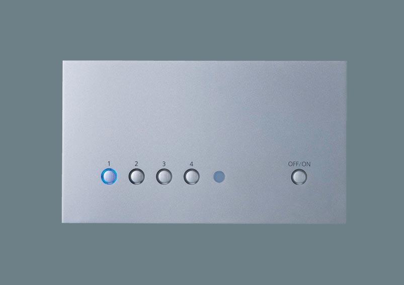 [電気工事必要]NQ28752SK リビングライコン5回路マルチ高機能調光タイプ(親器)(シルバー)パナソニックPanasonic