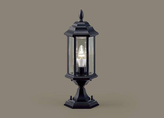 パナソニック LED門柱灯 LGW56925B(防雨型)(電球色)(電気工事必要)Panasonic
