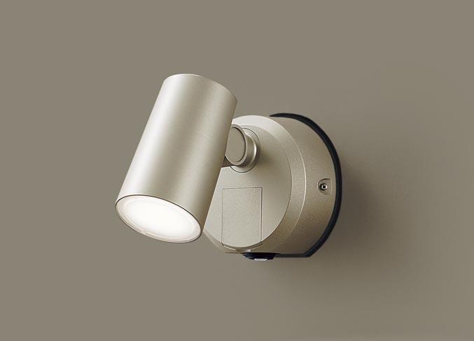 LED スポットライト(防雨型) LGWC40386LE1 FreePaセンサ付フラッシュ プラチナ温白色(電気工事必要)パナソニック Panasonic