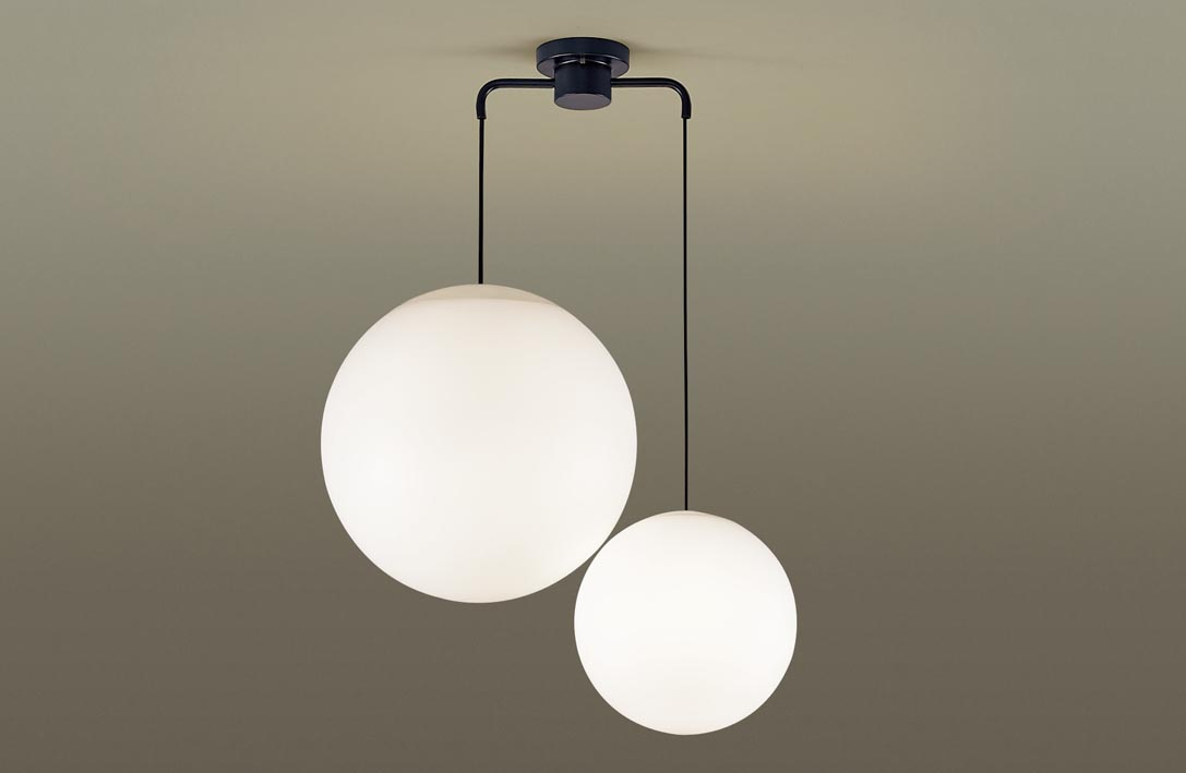 MODIFYモディファイ LEDシャンデリア LGB19511BK (電球色)(U-ライト方式)パナソニック Panasonic