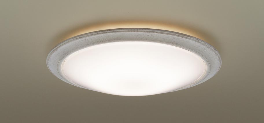 αパナソニック LEDシーリングライト LGBZ3509K (~12畳用)(調色)(カチットF・枠:フレンチグレー)Panasonic