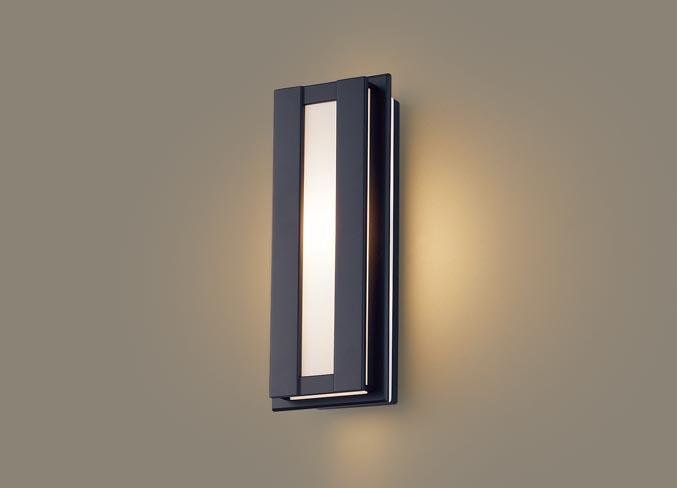(防雨型)LEDポーチライト(電球色)LGW80416LE1(オフブラック)(電気工事必要)パナソニックPanasonic