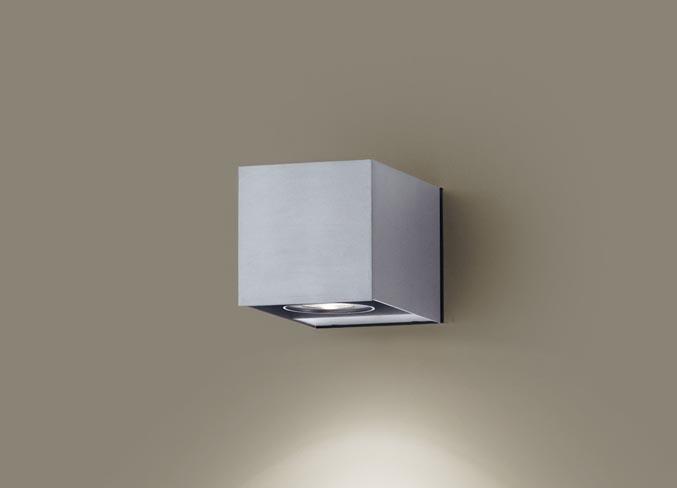 (防雨型)LEDブラケット(温白色)LGW80627LE1(シルバーメタリック)(電気工事必要)パナソニックPanasonic