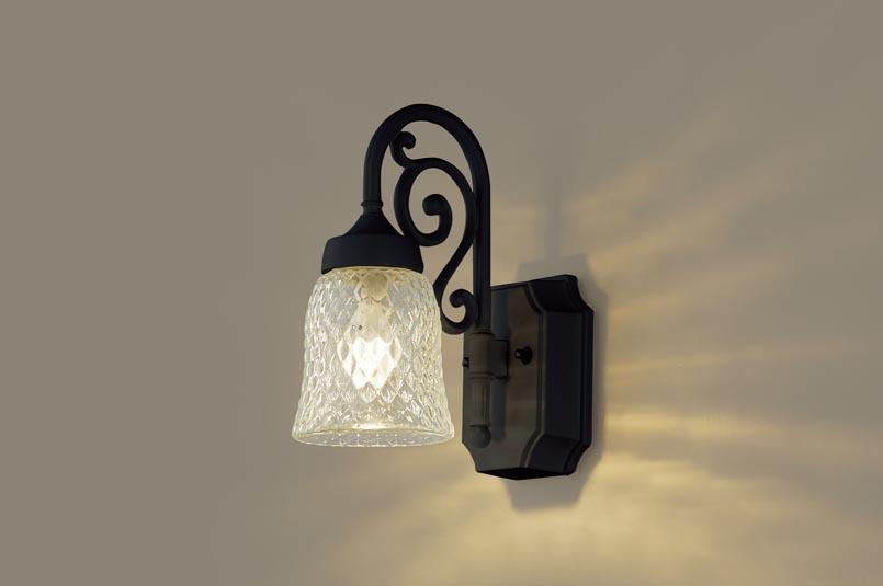 LEDポーチライト LGW85203BK (40形)(電球色)(電気工事必要)パナソニック Panasonic