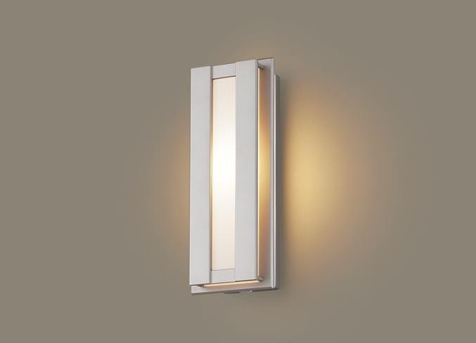 FreePa(段調光省エネ)LEDポーチライト(電球色)LGWC80414LE1(プラチナメタリック)(電気工事必要)パナソニックPanasonic