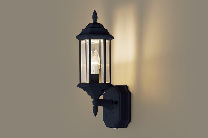 LEDセンサー付ポーチライトLGWC85205B(電気工事必要)パナソニックPanasonic