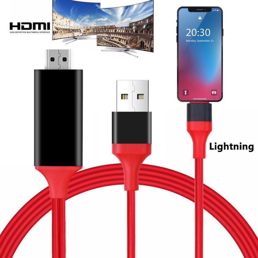 ライトニングケーブル HDMI 変換 iPhone HDMI 変換ケーブル Lightning HDMI アダプタ iPhoneテレビ変換ケーブル ライトニング ケーブルHDMI変換アダプター iPhone iPad ipod 対応