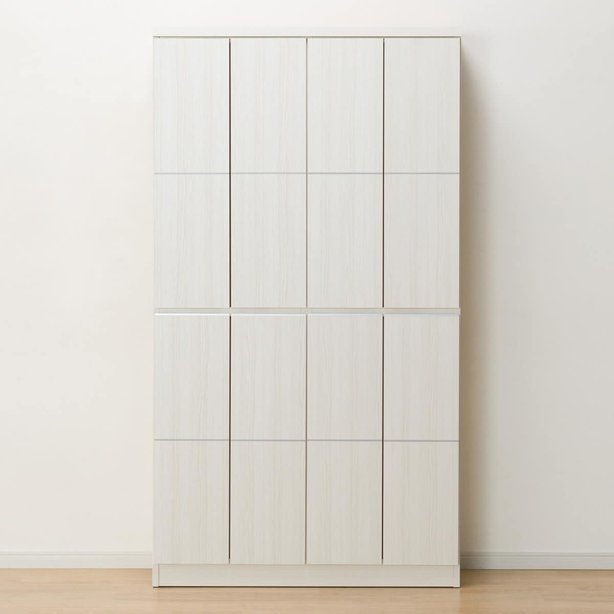 壁面を有効活用できるシューズボックス(ロイド 100HI WH) ニトリ 【完成品・配送員設置】 【5年保証】