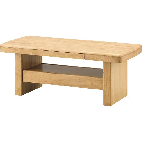 センターテーブル(クレディ 105 LBR) ニトリ 【玄関先迄納品】 【5年保証】