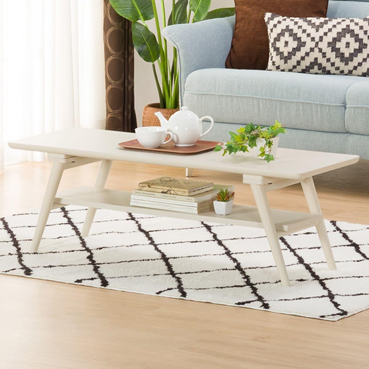 センターテーブル(セーブル3 120 WW) ニトリ 【玄関先迄納品】 【1年保証】