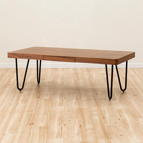 センターテーブル(カーブ120 MBR) ニトリ 【玄関先迄納品】 【5年保証】