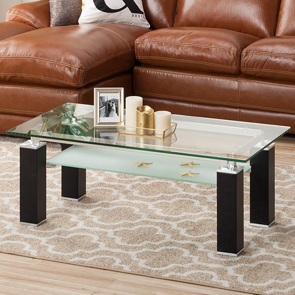 センターテーブル(ニューヨーク2 105BK) ニトリ 【配送員設置】 【5年保証】