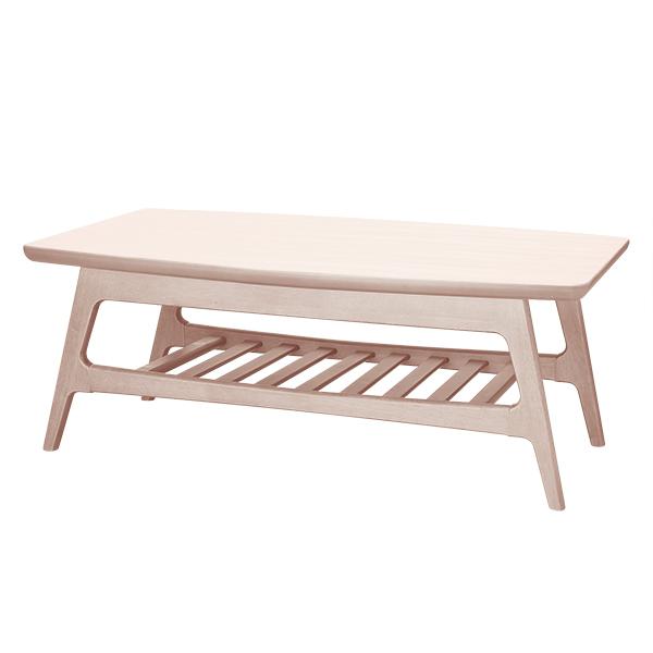 センターテーブル(リブレス 105 WW 棚) ニトリ 【玄関先迄納品】 【5年保証】