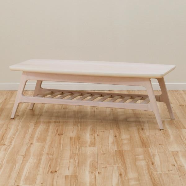 センターテーブル(リブレス 120 WW 棚) ニトリ 【玄関先迄納品】 【5年保証】