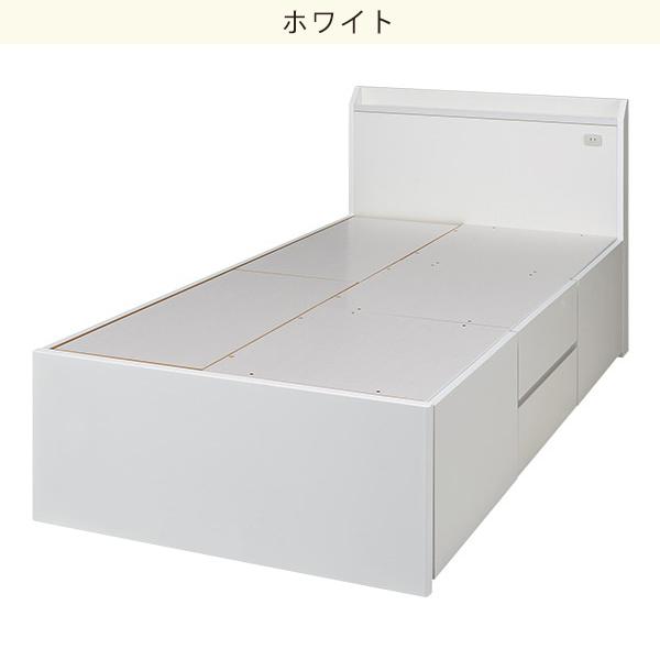 シングルベッドフレーム(ジオ チェスト40) ニトリ 【配送員設置】 【5年保証】