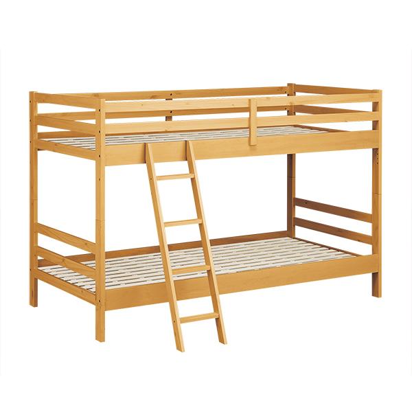 2段ベッド(ドール LBR スノコLV) ニトリ 【配送員設置】 【5年保証】