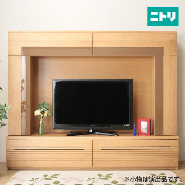 テレビボード(ラフィーネ2 210 LBR) ニトリ 【完成品・配送員設置】 【5年保証】