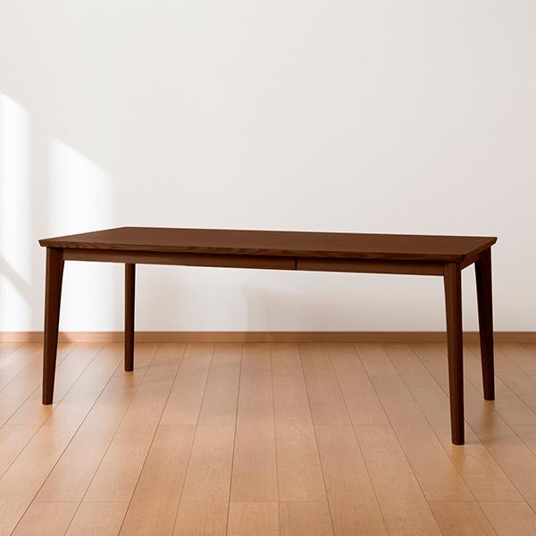 食卓テーブル ダイニングテーブル 6人 シンプル 引き出し 収納 ダイニングテーブル(ロレイン5H 180 MBR2) ニトリ 【配送員設置】 【5年保証】