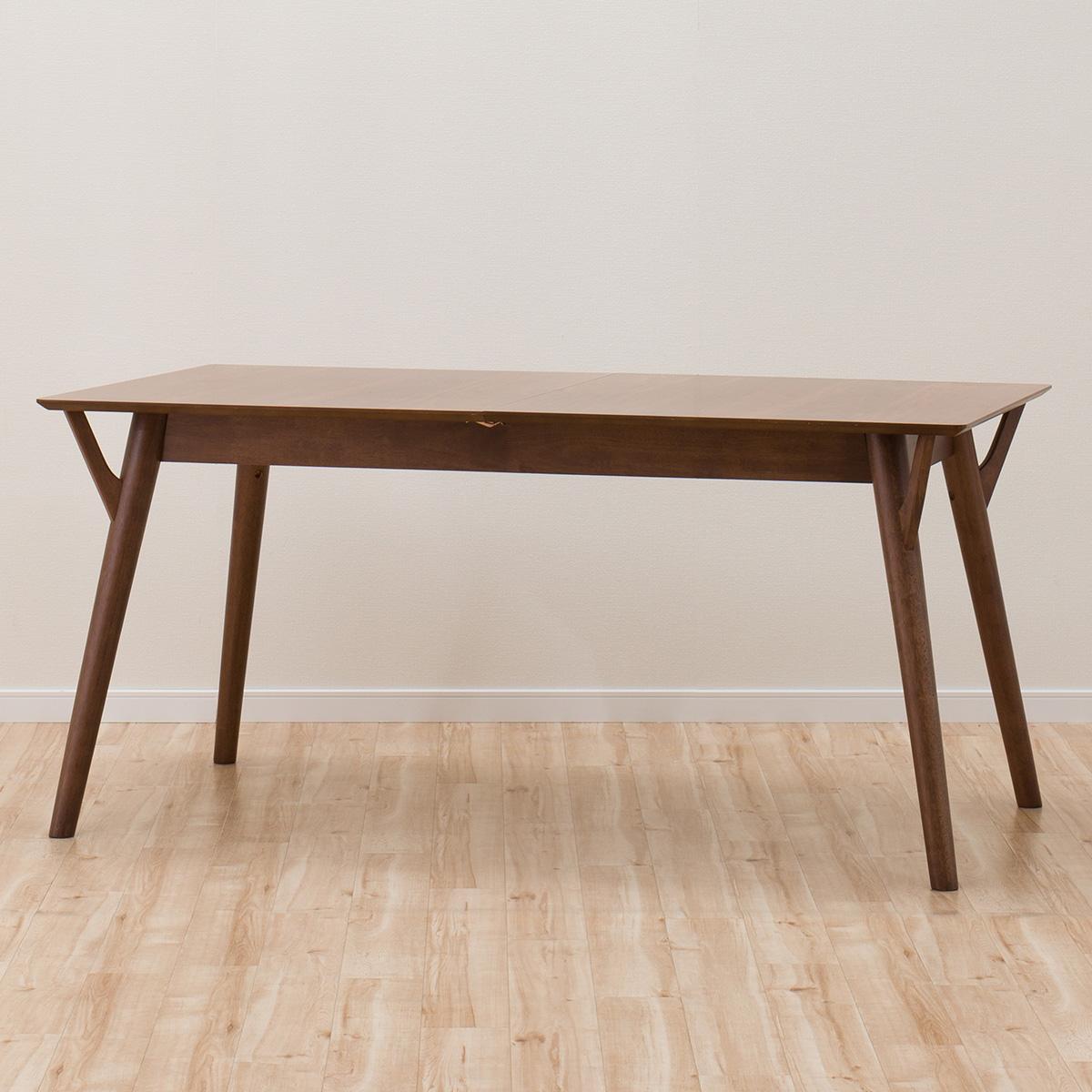 ダイニングテーブル(フィルン 伸長150MBR) ニトリ 【配送員設置】 【5年保証】