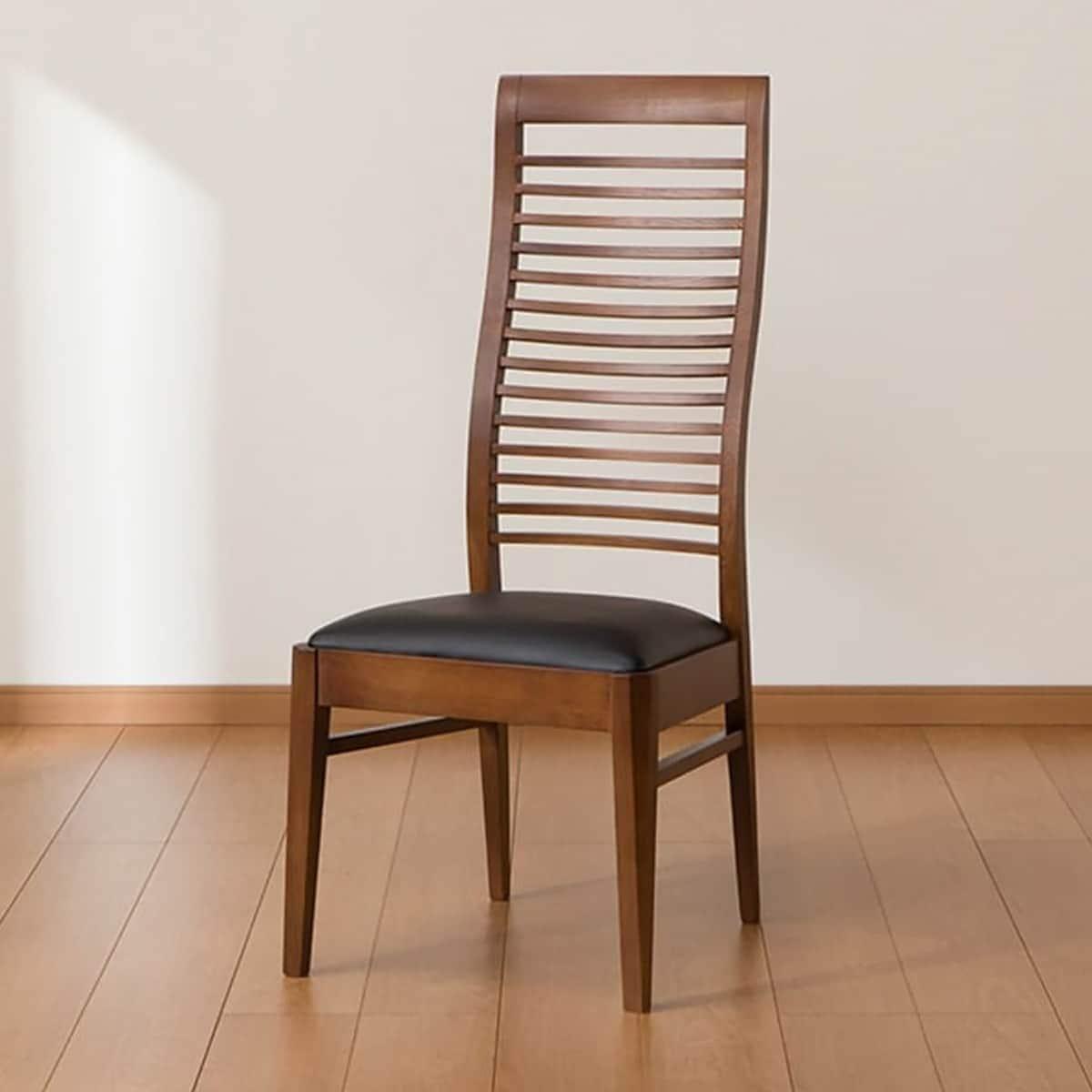 椅子 お金を節約 イス いす 食卓 ダイニングチェアー 木製 幅44cm ハイバックダイニングチェア 玄関先迄納品 MBR2 食卓イス ダイニングチェア ニトリ 低廉 5年保証 マライア3
