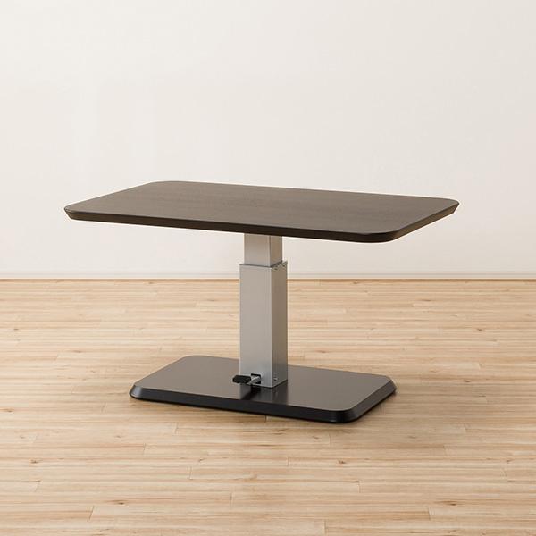 食卓テーブル ダイニングテーブル 4人 昇降 昇降式食卓テーブル(コラボ120DT DBR) ニトリ 【配送員設置】 【5年保証】