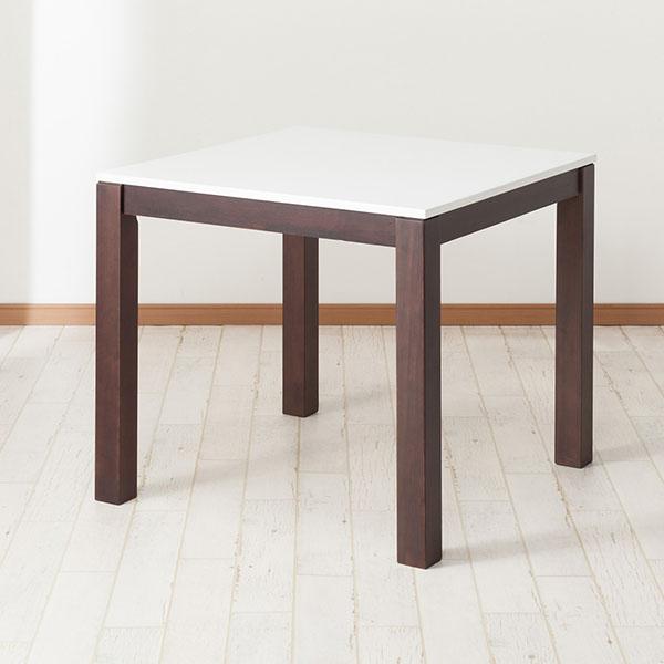 食卓テーブル(DT フレッツ2 80 DBR) ニトリ 【玄関先迄納品】 【5年保証】