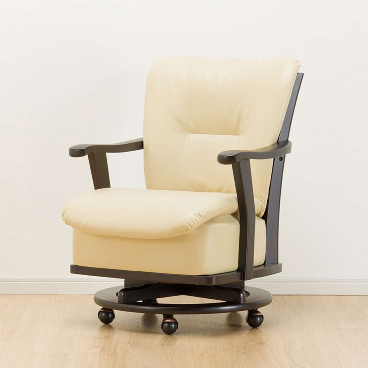 椅子 イス いす 食卓 新作製品 世界最高品質人気 ダイニングチェアー 販売期間 限定のお得なタイムセール 木製 幅61.5cm ダイニングチェア レベント 肘付きダイニングチェア DBR 食卓イス 玄関先迄納品 回転 5年保証 ニトリ