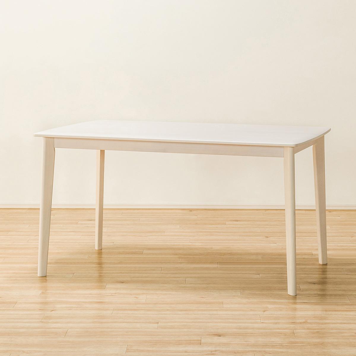 ダイニングテーブル(アルナス13580 WW) ニトリ 【玄関先迄納品】 【5年保証】