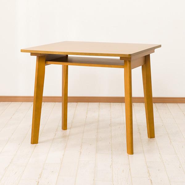 ダイニングテーブル(スタディー85 タナツキ LBR) ニトリ 【玄関先迄納品】 【5年保証】