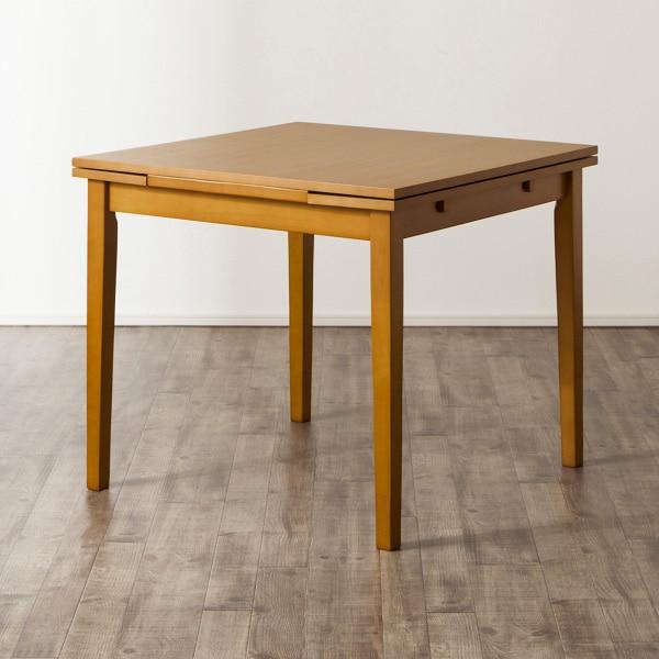伸長式テーブル(ジギー2 LBR) ニトリ 【玄関先迄納品】 【5年保証】