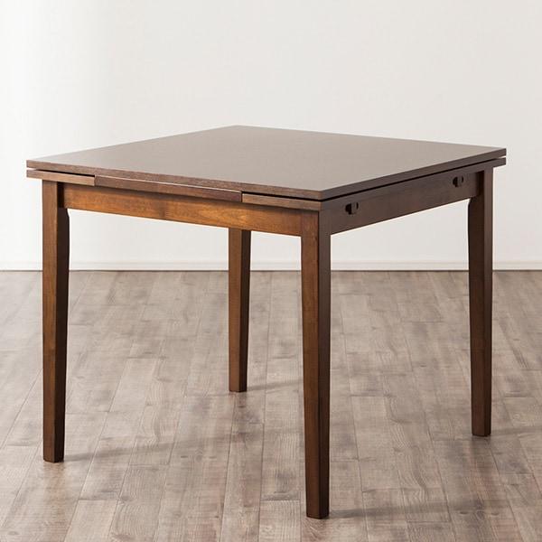 伸張式テーブル(ジギー2 DBR) ニトリ 【玄関先迄納品】 【5年保証】