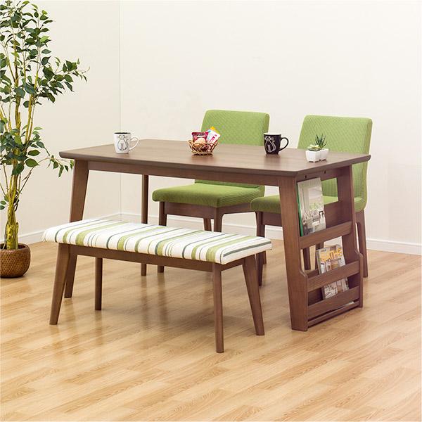 ダイニングテーブルセット(DTリブレス130/DCリブレス/ベンチリブレスMBR) ニトリ 【配送員設置】 【5年保証】