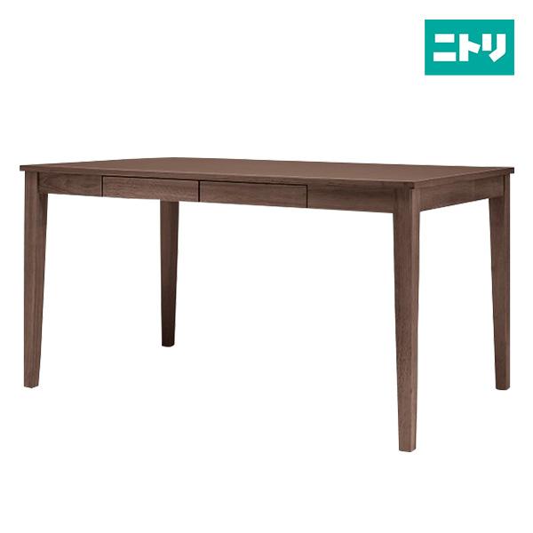 ダイニングテーブル(パレット2 135DBR) ニトリ 【玄関先迄納品】 【5年保証】