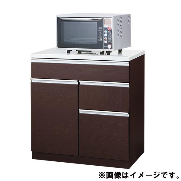 キッチンカウンター(キュリー2 80CT DBR) ニトリ 【完成品・配送員設置】 【5年保証】