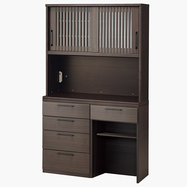 キッチンボード(リキュウ 120KB/60C/600P/120CT DBR) ニトリ 【配送員設置】 【5年保証】