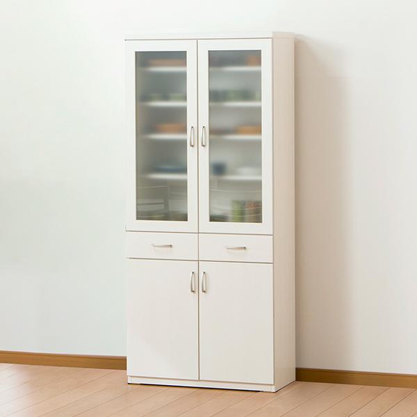 食器棚(コパン 80DB WW) ニトリ 【完成品・配送員設置】 【5年保証】