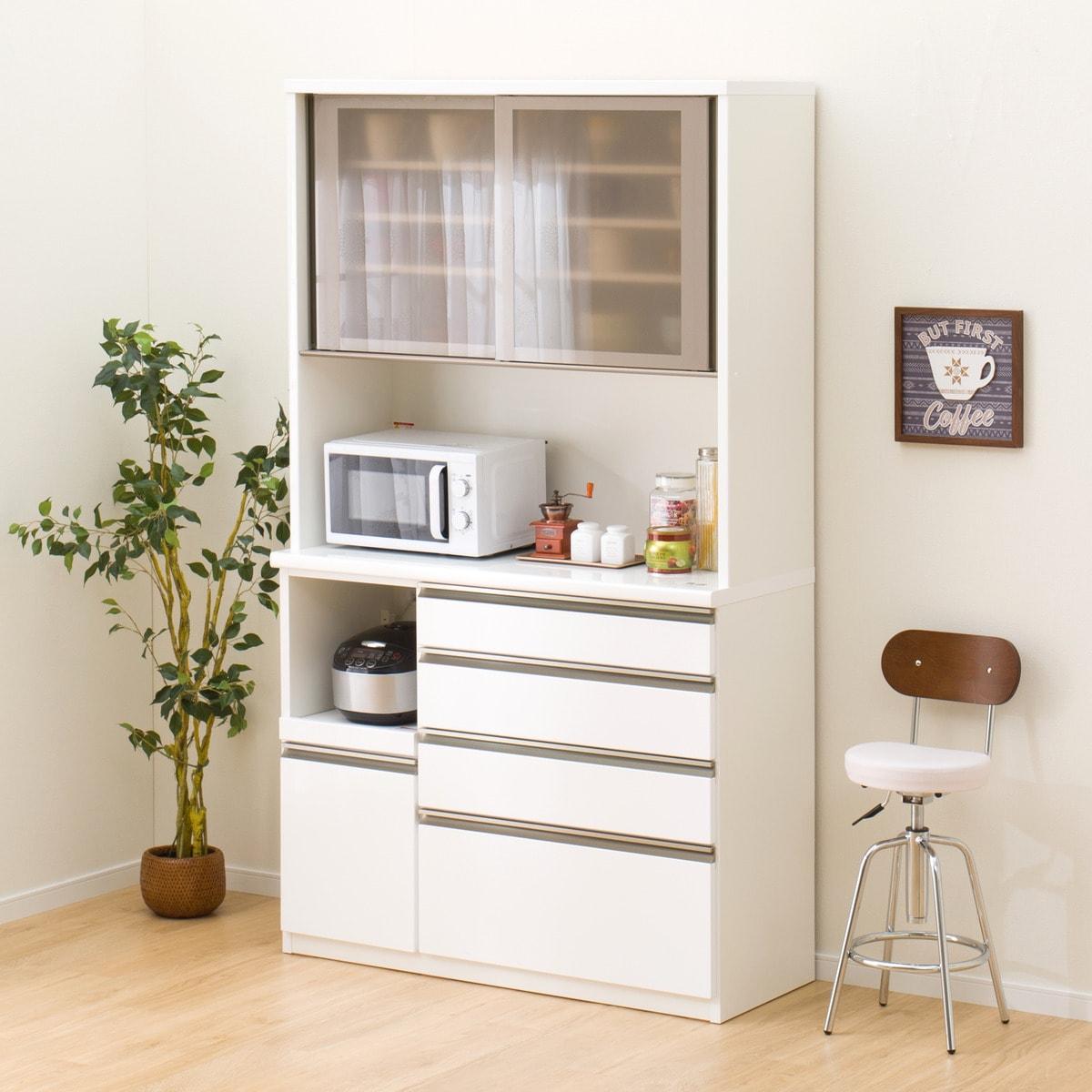 キッチンボード(ラピス 120 ホワイト) ニトリ 【完成品・配送員設置】 【5年保証】