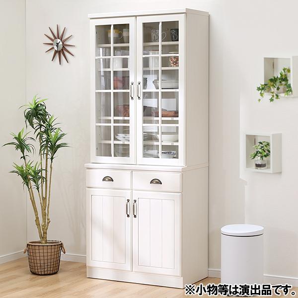 食器棚(ミランダ2 80 WW) ニトリ 【配送員設置】 【5年保証】