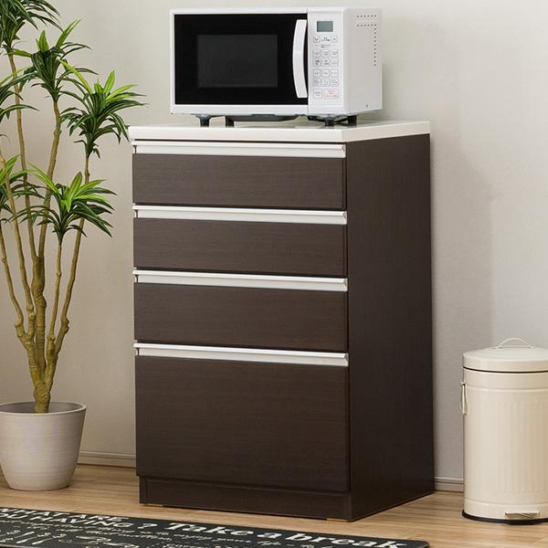 キッチンカウンター(レジューム 60SH DBR) ニトリ 【配送員設置】 【5年保証】