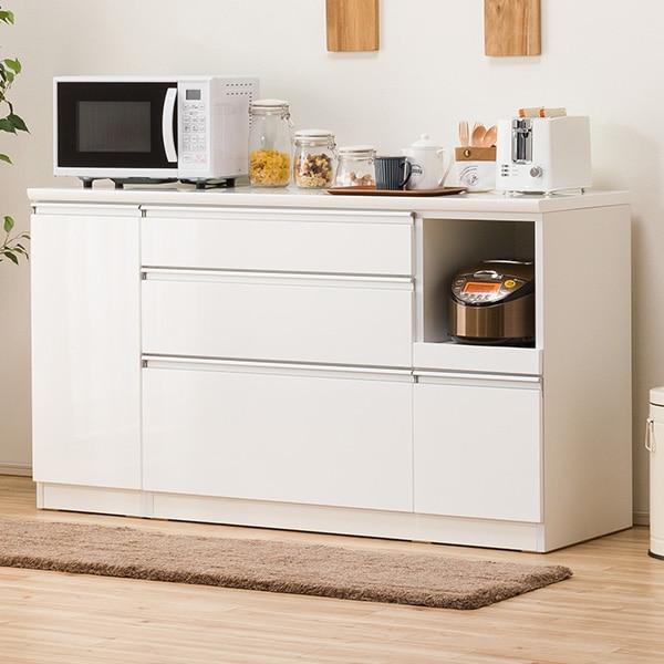 キッチンカウンター(レジューム 150SL-R WH) ニトリ 【配送員設置】 【5年保証】