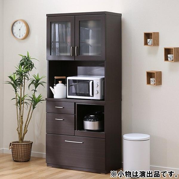 キッチンボード(コパン 80KB DBR) ニトリ 【完成品・配送員設置】 【5年保証】
