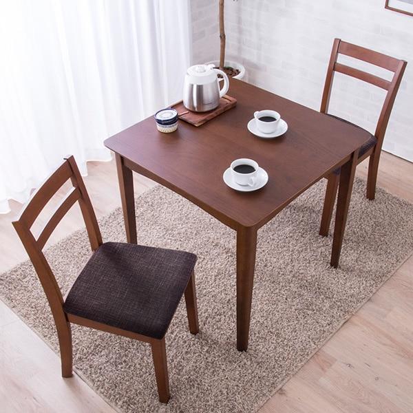 モダンダイニングテーブル+イス セット 75×75cm(DBR) ニトリ 【玄関先迄納品】 【1年保証】