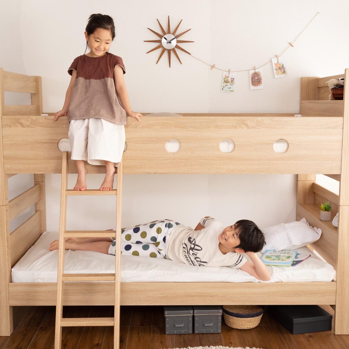 ベッド 段 ニトリ 2