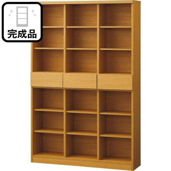 オープン書棚(アデル120BS LBR) ニトリ 【完成品・配送員設置】 【5年保証】