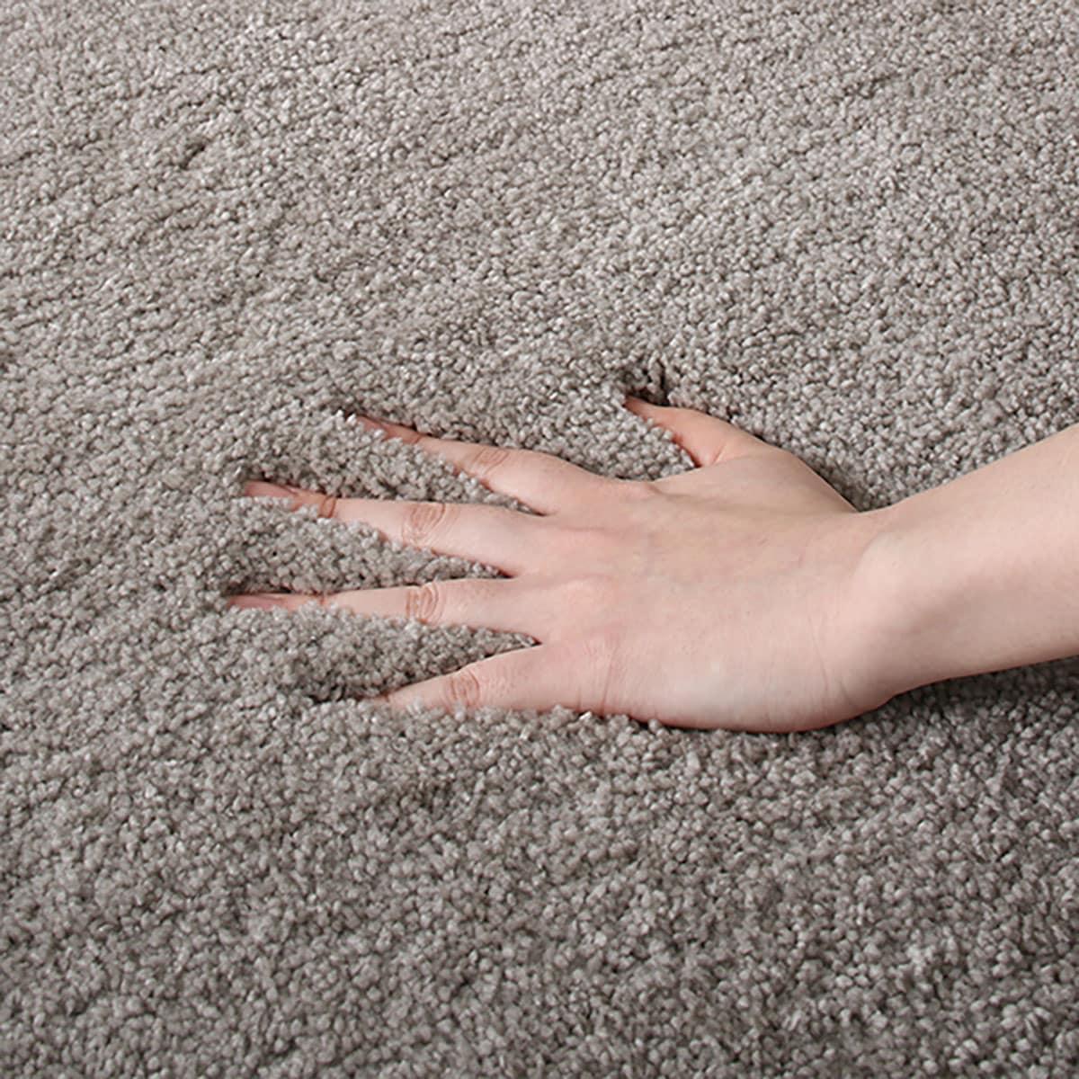 防ダニ・防炎・抗菌カーペット(ナイロンムートンMO 130cmR) ニトリ 【玄関先迄納品】